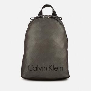 Calvin Klein Women's City Nylon Backpack - Dark Metallic