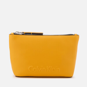 Calvin Klein Women's Edge Cosmetic Pouch - Sunflower