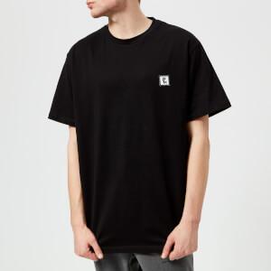 Wooyoungmi Men's Chest Logo Basic T-Shirt - Black