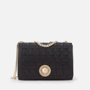 Versace Jeans Women's Chain Shoulder Bag - Black