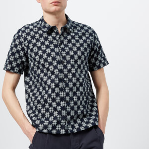 Folk Men's Gabe Shirt - Indigo Check