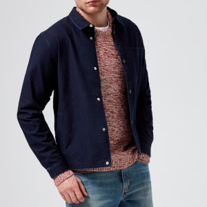 Folk Men's Orb Jacket - Heavy Denim