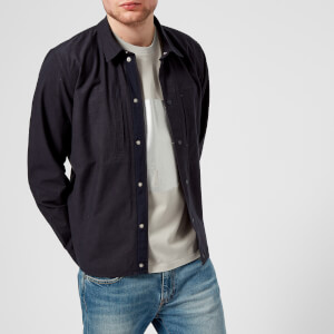 Folk Men's Agnes Jacket - Washed Navy