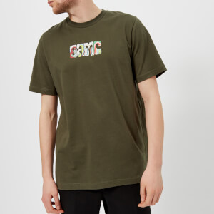 OAMC Men's Acid Glaser T-Shirt - Khaki