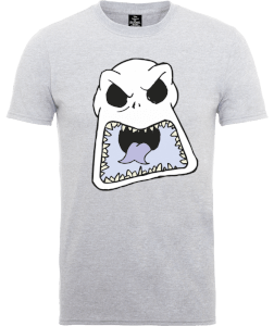 Disney The Nightmare Before Christmas Jack Skellington Angry Face Grey T-Shirt