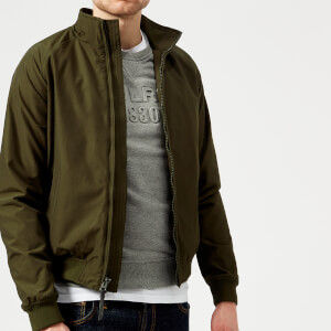 Woolrich Men's Shore Bomber Jacket - Dark Green