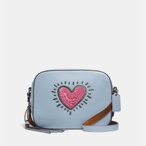 Coach 1941 Women's Coach X Keith Haring Camera Bag - Ice Blue