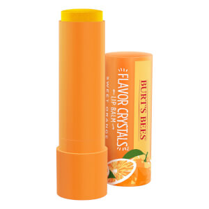 Burt's Bees Flavour Crystals 100% Natural Moisturising Lip Balm - Sweet Orange 4,53 g
