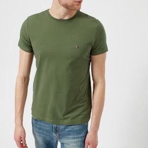 Tommy Hilfiger Men's Stretch Slim Fit T-Shirt - Four Leaf Clover
