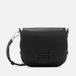 Tod's Women's Double T Mini Shoulder Bag - Black