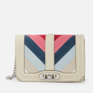 Rebecca Minkoff Women's Small Love Cross Body Bag - Pink Multi