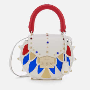SALAR Women's Mimi Eagle Bag - White