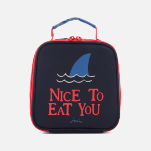 Joules Junior Munch Lunch Bag - Chambre Blue Shark Dive