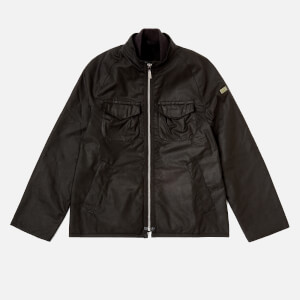 Barbour Boy's Bar Wax Jacket - Black
