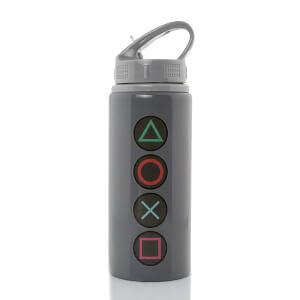 PlayStation Button Aluminium Drink Bottle