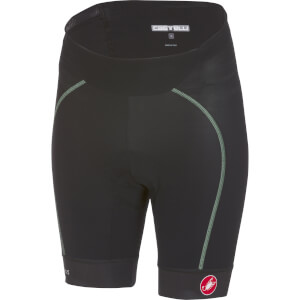 Castelli Women's Velocissima Shorts - Black/Pastel Mint