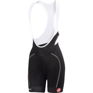 Castelli Women's Velocissima Bib Shorts - Black/Pastel Mint