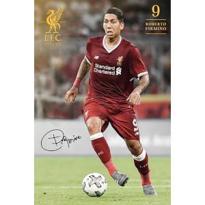 Liverpool Firmino 17/18 Maxi Poster 61 x 91.5cm