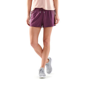 Skins Activewear Women's Cone Run Shorts - Merlot
