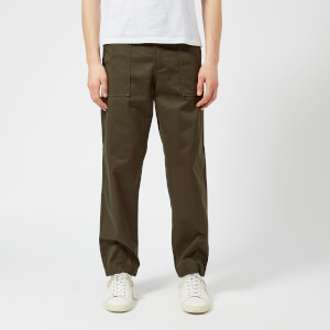 Universal Works Men's Fatigue Pants - Olive Twill