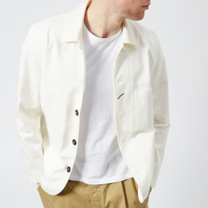 Universal Works Men's Bakers Jacket - Ecru