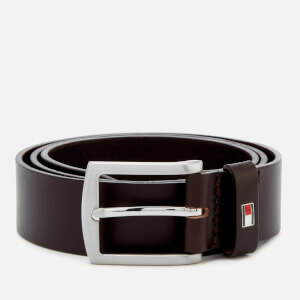 Tommy Hilfiger Men's New Denton Belt 3.5 - Testa Di Moro