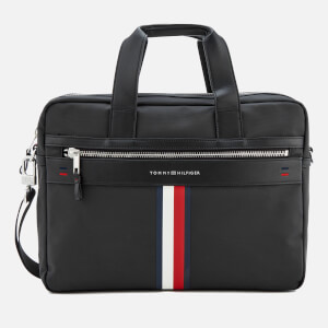 Tommy Hilfiger Men's Elevated Computer Bag - Black