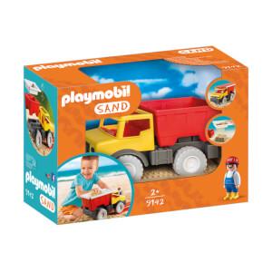 Playmobil Camion tombereau avec seau (9136)