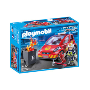 Playmobil City Action Firefighter with Car (9235)