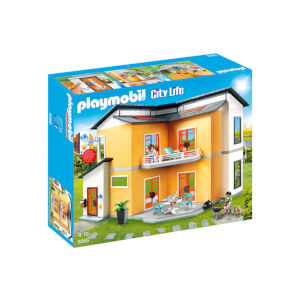 Playmobil City Life Modern House with Working Doorbell (9266)