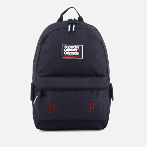 Superdry Men's Binder Montana Backpack - Dark Navy