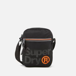 Superdry Men's Lineman Super Sidebag - Black