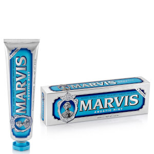 Dentifrice Marvis 85 ml – Aquatic Mint (menthe aquatique)