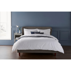 Christy Freya Duvet Cover - White