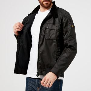 Barbour International Men's Spec Wax Jacket - Black