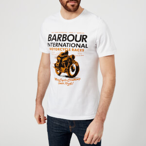Barbour International Men's Dyno T-Shirt - White