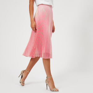Christopher Kane Women's Brillo Pad Pleated Skirt - Pink