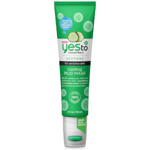 Máscara de Lama Refrescante Cucumbers da yes to 59 ml