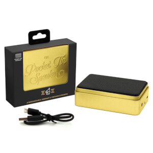 The Pocket Tin Speaker 2.0 - Gold