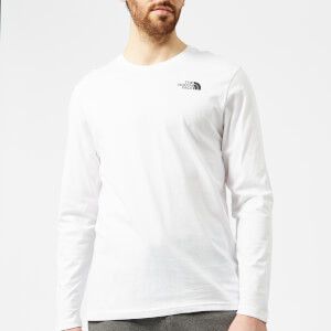 The North Face Men's Long Sleeve Easy T-Shirt - TNF White