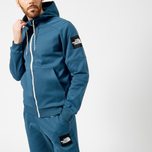 The North Face Men's Fine 2 Full Zip Hoodie - Blue Wing Teal