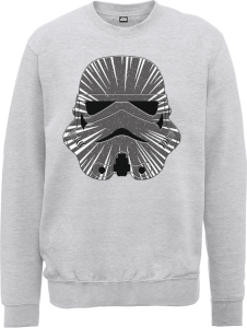 Sweat Homme Hyperspeed Stormtrooper - Star Wars - Gris