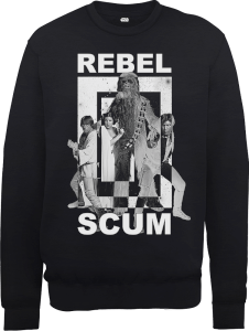 Star Wars Rebel Scum Sweatshirt - Black