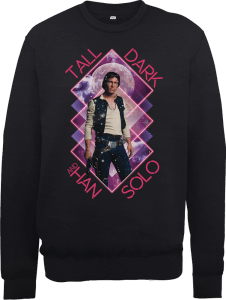 Sweat Homme Han Solo Tall Dark - Star Wars - Noir