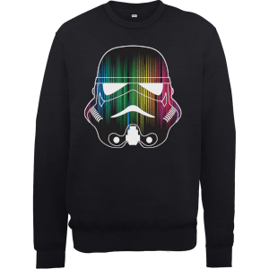 Sweat Homme Vertical Lights Stormtrooper - Star Wars - Noir