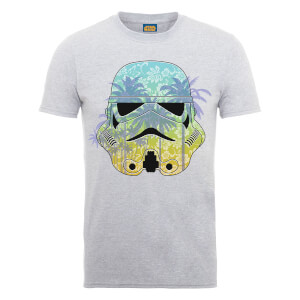 Star Wars Stormtrooper Hawaii T-Shirt - Grey