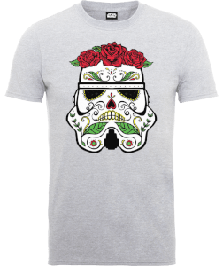 Star Wars Day Of The Dead Stormtrooper T-Shirt - Grau