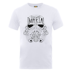 Star Wars Imperial Army Stormtrooper Galactic Empire T-Shirt - Weiß