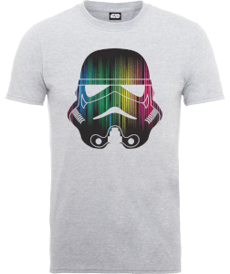 Star Wars Vertical Lights Stormtrooper T-Shirt - Grau