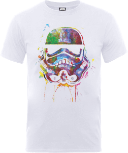 Star Wars Verfspetters Stormtrooper T-shirt - Wit